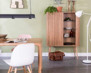 Barbier cabinet, gumode, skapis, plaukts dizaina Zuiver