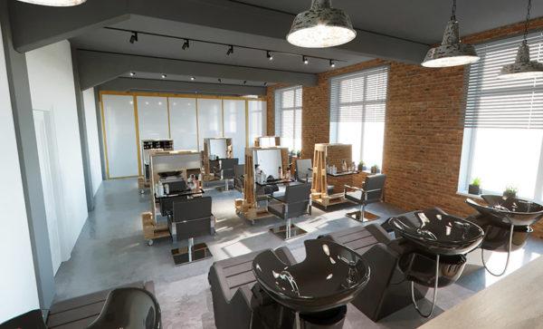 Skaistumkopšanas salona interjera dizains Zane Skalberga