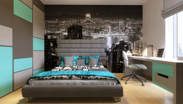 Guļamistabas interjera dizains Zane Skalberga