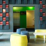 abstracta akustiskie paneļi sienām