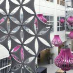 abstractaa akustiskās starpsienas dekoratīvās