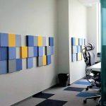 Fluffo dekoratīvās skaņas izolācijas plātnes sienām