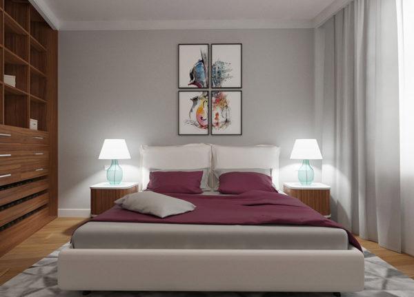 guļamistabas interjera dizains