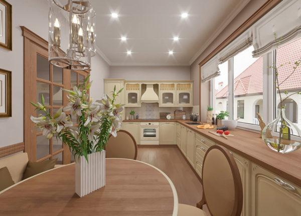 virtuves interjera dizians