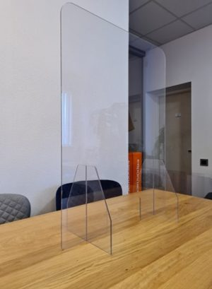 Aizsargstikls akrila 60x80x25 cm