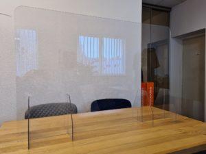 Aizsargstikls akrila 120x80x25 cm